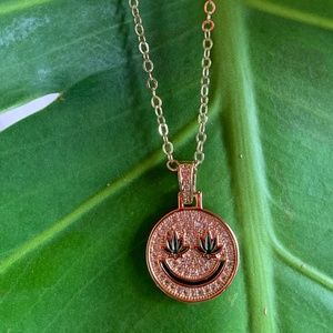 Happy Mary Jane Necklace